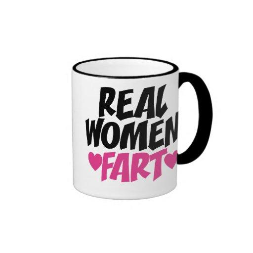 Real Women Fart Mug