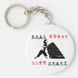 Real Women Lift Heavy Key Chain