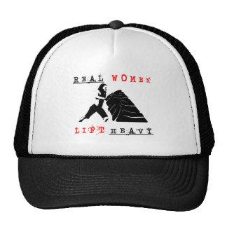 Real Women Lift Heavy Trucker Hat