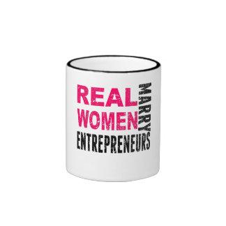 Real Women Marry Entrepreneurs Ringer Mug