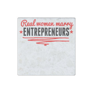 Real Women Marry Entrepreneurs Stone Magnet