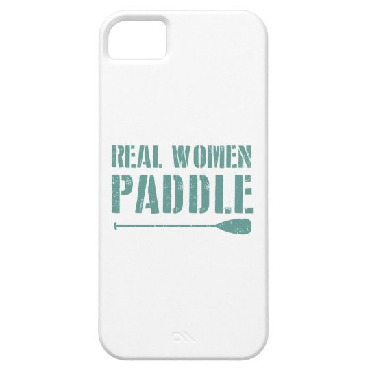Real Women Paddle iPhone 5 Cases