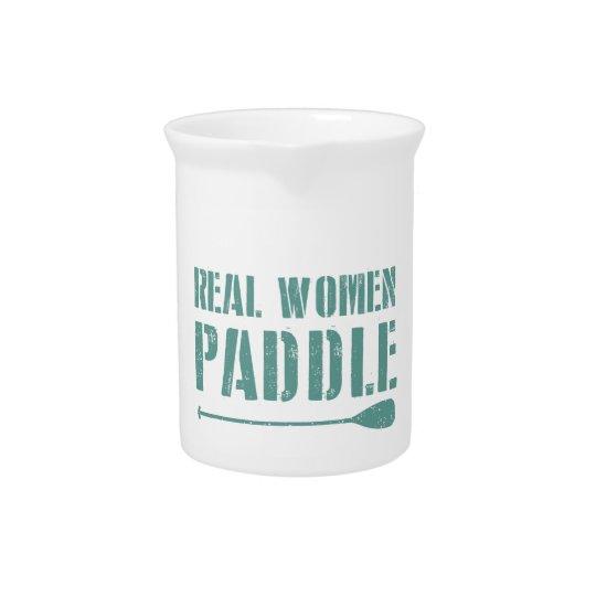 Real Women Paddle Pitchers