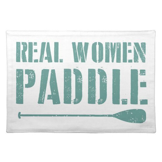 Real Women Paddle Placemats