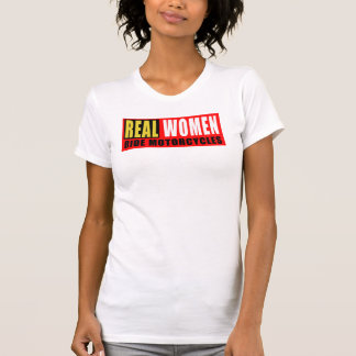 Real women wrinkle motorcycles T-Shirt