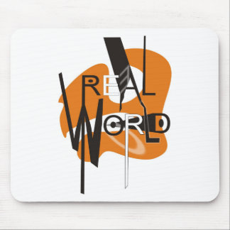 REAL WORLD MOUSE PAD
