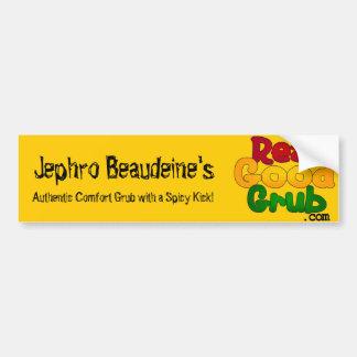 RealGoodGrubLogo1 Bumper Sticker