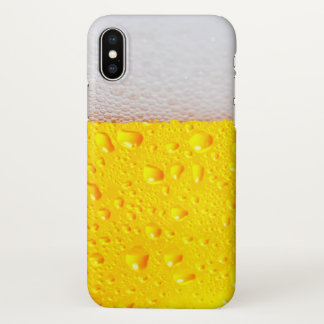 Realistic Beer iPhone X Case