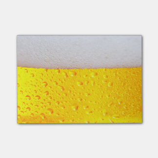 Realistic Beer Post-it® Notes