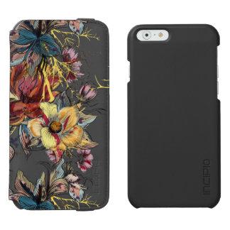 Realistic drawn Floral bouquet pattern Incipio Watson™ iPhone 6 Wallet Case