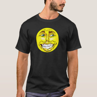 Realistic Emoji Happy Face T-Shirt