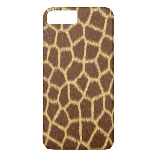 Realistic Faux Giraffe Print Animal Fur Pattern iPhone 8 Plus/7 Plus Case