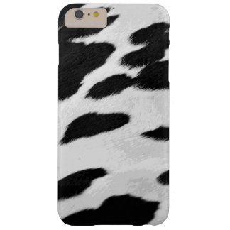 Realistic Holstein cow Hide Look Barely There iPhone 6 Plus Case