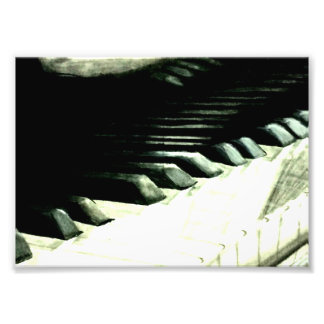 "Realistic Piano keys 7"" x 5"" Photo Print"