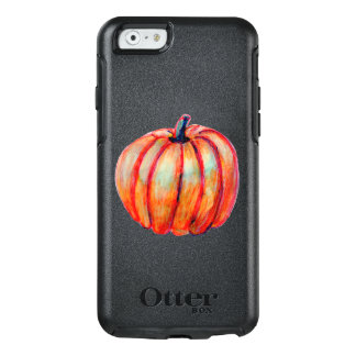 Realistic Pumpkin on Otterbox Case iPhone 6/6s