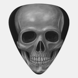Realistic Skull Plectrum