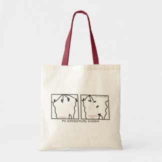 Reality Adventure Shows Budget Tote Bag