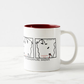 Reality Adventure Shows Mugs