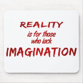 Reality/Imagination Mousepad