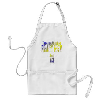 Reality Show Adult Apron