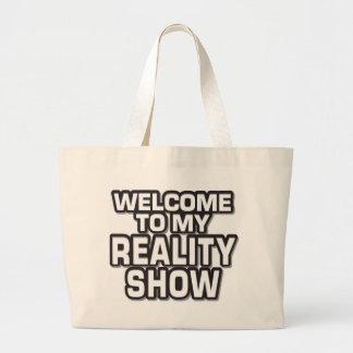 Reality Show Bag Jumbo Tote Bag