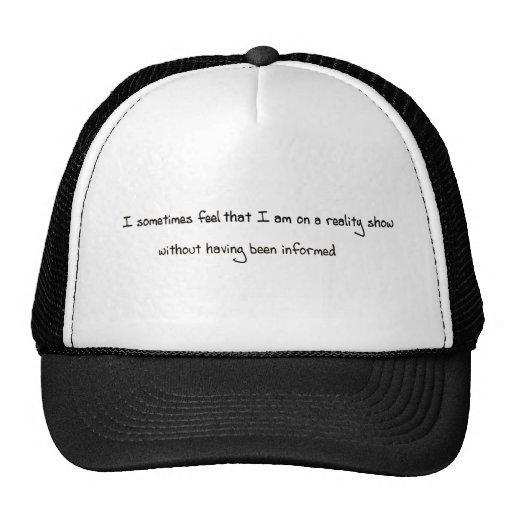 Reality Show Trucker Hat
