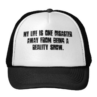 Reality Show Life Cap