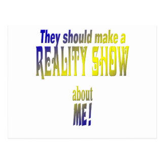 Reality Show Postcard