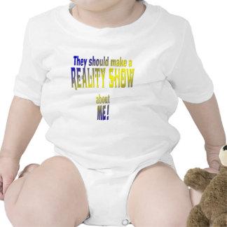 Reality Show Baby Bodysuits