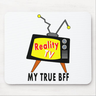 Reality TV My BFF Old-fashioned TV Mousepad