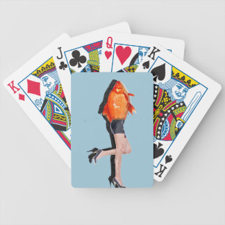 Reality vs. Fish Bicycle Playing Cards
