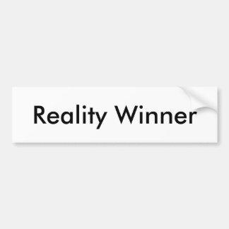 Reality Winner Bumper Sticker