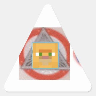 really cool Josh4563 Merchandise Triangle Sticker