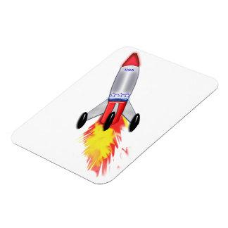 Really Cool Rocket Magnet