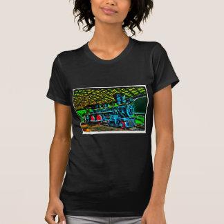 Really Cool Train Art T-Shirt