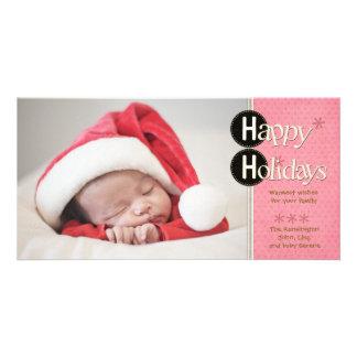 Really Happy Holidays Photo Card