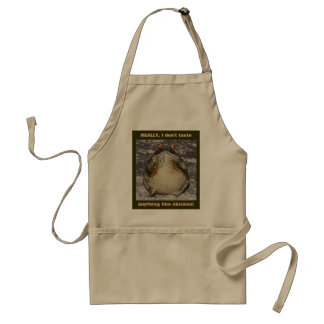 REALLY, I don't taste anything like chicken! Standard Apron