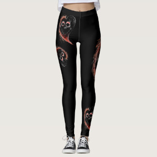 Really spooky leggings