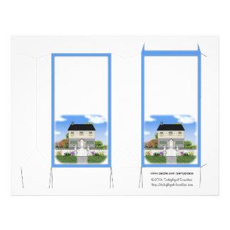 Realtor Pinch Box gift box personalize 21.5 Cm X 28 Cm Flyer