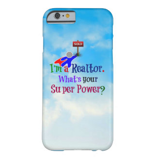 Realtor Superhero - Humor Barely There iPhone 6 Case
