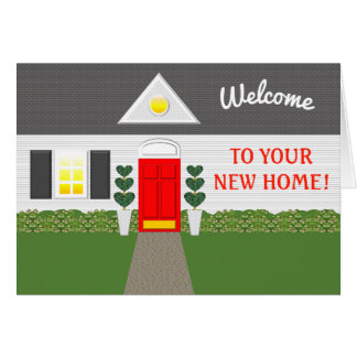 Realtor Welcome Home Thank You Card
