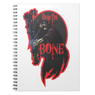 Reap the Bone notebook