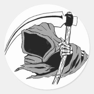 reaper classic round sticker