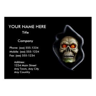 REAPER (Halloween skull design) ~ Pack Of Chubby Business Cards