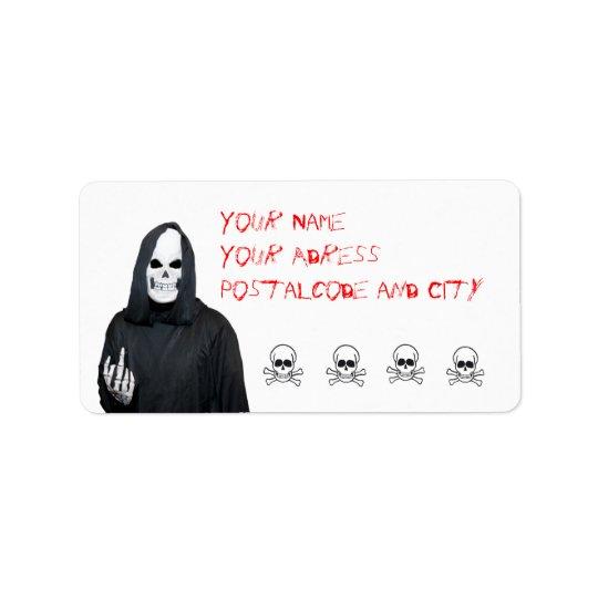 reaper Label Address Label
