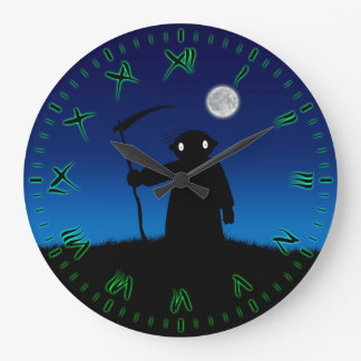 Reaper Large Clock