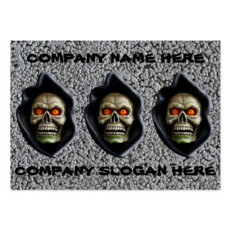 REAPER on BUBBLING STEEL (design too!) ~ Business Cards