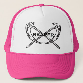 Reaper trucker cap