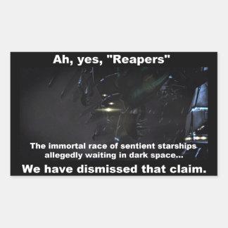 Reapers Rectangular Sticker