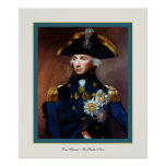 Rear Admiral ~ Sir Horatio Nelson Poster